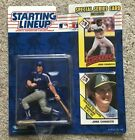 1993 Kenner SLU Starting Lineup JOSE CANSECO Oakland A's Texas Rangers Traded