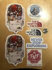 New 7 Sticker Lot The North Face Stickers