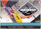 2011 12 PANINI LIMITED BASKETBALL HOBBY LOOK FOR KOBE BRYANT AUTOS!
