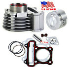 47mm Big Bore Cylinder Piston Rings Kit for GY6 50cc-80cc 4 Strokes Scooter USA