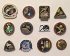 LOT of 12 NASA LAPEL PINS Space Shuttle STS Missions Skylab Astro 1 Program +++