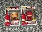 Funko POP! Marvel DAREDEVIL #90 YELLOW & RED TARGET & Hot Topic Exclusive