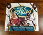 2019 Panini Certified Football FOTL Hobby Box Factory Sealed Brand New Mint