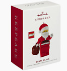 Hallmark 2019 SANTA CLAUS LEGO Christmas Ornament BRAND NEW FREE SHIPPING