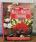 Weight Watchers Meals in Minutes Cookbook 300 Recipes Hard Cover Vintage 1989