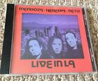 MARCO MENDOZA HEREDIA NETO ~ LIVE IN LA ~ CD 1998 ~ VG+/EX ~ RARE ORIG ISSUE