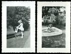 Vintage Photos ADORABLE LITTLE GIRL SHOWS OFF IN CUTE SUMMER OUTFIT BLOOMERS