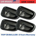 4PC Inside Left Right Side Door Handle fits for 93 97 Toyota Corolla GEO Prizm