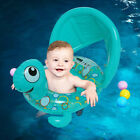 26x24Floating Turtle Baby Swimming Pool Float Inflatable Seat with UV Sun shade