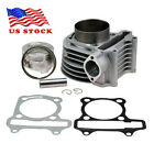 US 180CC 61mm Big Bore Cylinder Kit for GY6 125CC 150CC Scooter ATV Motocycle