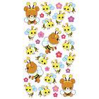 Scrapbooking Stickers Sticko Honey Bear Bees Wings Flowers Cute Happy Repeats