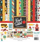 Echo Park Back To School 12x12 Scrapbook Kit Papers + Stickers Boy Girl