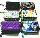 NWT Vera Bradley RFID 3 in 1 Crossbody Wallet Various Colors YOUR Choice