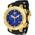Invicta Men's Subaqua 50mm Black Polyurethane Band Swiss Quartz Watch 25353