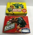 Vintage 1980 Topps STAR WARS  EMPIRE STRIKES BACK Candy Boxes RED  YELLOW