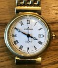 Solid 18K Gold Jacques Lemans Rare Limited Edition Men's Automatic Dress Watch