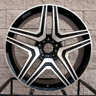 22 Mercedes Benz Wheels Rims G Class G Wagon G500 G550 G55 G63 Black Machine