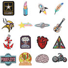 Fashion Punk Embroidered Iron on Sew ON Patch Fabric Applique Badge CO 01