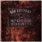 BAD COMPANY - STORIES TOLD AND UNTOLD CD POP NEW+