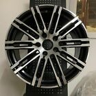 20 BLACK MACHINE TURBO GTS STYLE WHEELS RIMS FITS AUDI Q7 QUATTRO TDI FSI