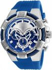 Invicta 24696 Bolt Men's Chronograph 52.0mm Stainless Steel Blue Silver Dial