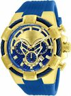 Invicta 24698 Bolt Men's Chronograph 52.0mm Gold-Tone Blue Gold Dial Watch