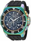 Invicta 25734 Russian Diver Men's 52mm Chronograph Rainbow Black Dial Watch