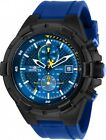 Invicta 28092 Aviator Men's Chronograph 50.5mm Black-Tone Blue Dial Watch