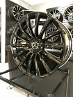 22x90 Gloss Black GLE AMG Style Wheels Fits Mercedes Benz ML GL GLE GLS 5x112