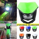Motorcycle Green Black Universal Headlight Fairing For Kawasaki KLX400SR KLX140L
