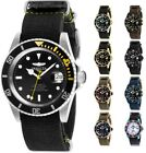 Invicta Pro Diver Automatic 42mm Canvas Strap Watch - Choice of Color