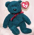 Ty Beanie Baby Collectible Christmas Holiday 2001 TEDDY Bear Sparkle Plush Toy