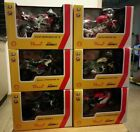 Shell Die Cast Models DUCATI Full Set of 6 118 Scale BURAGO