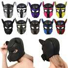 Puppy Cosplay Dog Head Mask Party Role Play Prop Toy Soft Padded Rubber Neoprene