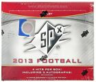 2013 UPPER DECK SPX FOOTBALL HOBBY BOX LOOK FOR EJ MANUEL GENO SMITH RC YEAR!