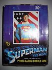 1978 SUPERMAN 1ST FULL BOX (36 CARD PACKS) TOPPS