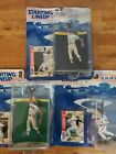 1997 STARTING LINEUP BARRY BONDS-Giants Cal Ripken-Orioles Ken Griffey Jr.- Mari
