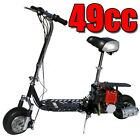 Fastest New All Terrain 49cc 2 Stroke Gas Motor Scooter SILVER IN COLOR