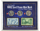 American Coin Treasure WWII Steel Penny Mint Mark  Stamp Collection