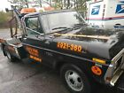 Ford F350, 1978, Wrecker, Tow Track, v8 351 engine, manual trans