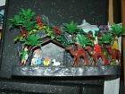 1974 Vintage Christmas Decor Soft Plastic Nativity Hong Kong 968348