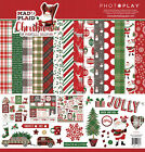 Photo Play Paper Christmas Mad 4 Plaid 12x12 Collection Pack Santa Holiday