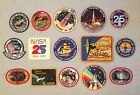 NASA PATCHES LOT of 15 Space Program  Shuttle STS Mission Spacelab Galileo ++++