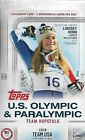 2018 Topps Team USA U.S. Olympic & Paralympic Sealed Hobby Box