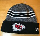 New Era NFL Kansas City Chiefs Knitted Beanie Winter Hat Cap KC Football Chief