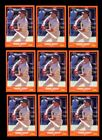 1988 SCORE TRADED #105T ROBERTO ALOMAR RC HOF LOT OF 9 NMMT B182052