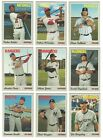2019 Topps Heritage High Number Short Print Complete Set 701 725 Paddack Robles+