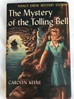 Nancy Drew Tolling Bell FIRST EDITION PC Yellow Spine