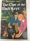 Nancy Drew FINE Black Keys FIRST EDITION Yellow Spine YS PC