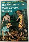 Nancy Drew FINE Moss Covered Mansion FIRST EDITION Yellow Spine YS PC